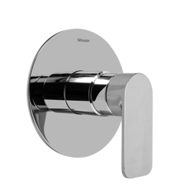 Graff G-7030-LM42S-PC Pressure Balancing Valve Trim with Handle With Finish: Polished Chrome