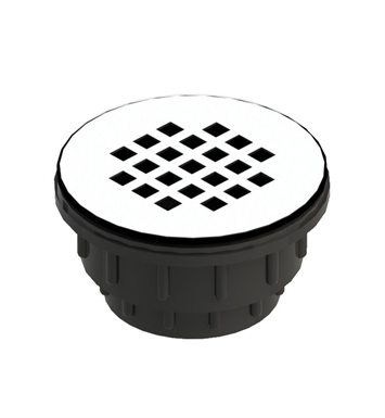 Rubinet 9FSD11OB Shower Drain for Acrylic Base With Finish: Oil Rubbed Bronze