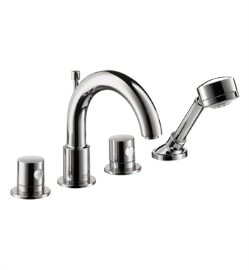 Hansgrohe 38447 Axor Uno 4 Hole Roman Tub Set Trim with Handshower