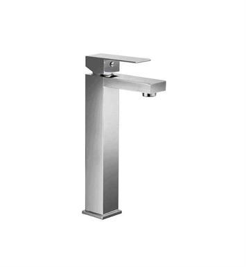 ALFI Brand AB1129-PC Polished Chrome Tall Square Single Lever Bathroom Faucet