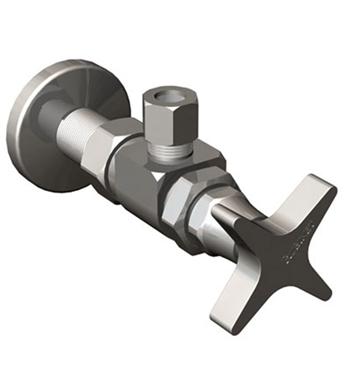 Rubinet 9ASV2SB Supply Valves & Flextubes Contemporary Angle Supply Valve With Finish: Satin Brass