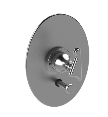 Rubinet 2YJSLSNSN Jasmin Pressure Balance Valve Only with Diverter & Stops With Finish: Main Finish: Satin Nickel | Accent Finish: Satin Nickel