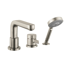 Hansgrohe Metris S 3 Hole Thermostatic Tub Filler Trim