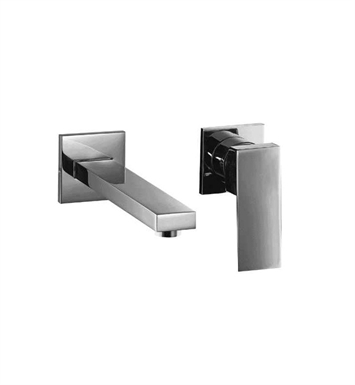 ALFI Brand AB1468-PC Polished Chrome Single Lever Wallmount Bathroom Faucet