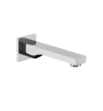 ALFI Brand AB9201-BN Brushed Nickel Wallmounted Tub Filler Bathroom Spout