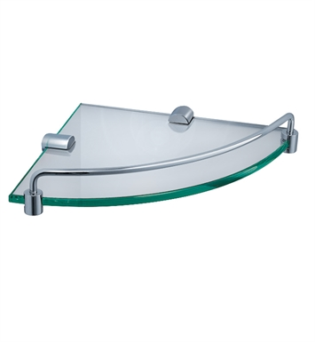 Fresca FAC0248 Corner Shelf with Railing