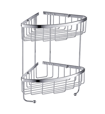 Fresca FAC0305CH 2 Tier Wire Basket in Chrome