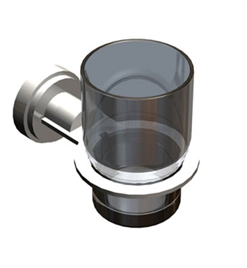Rubinet 7LLA0CHCH LaSalle Glass Holder With Finish: Main Finish: Chrome | Accent Finish: Chrome