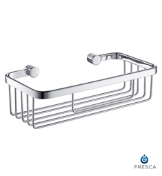 Fresca FAC0601CH Single Wire Soap Basket in Chrome