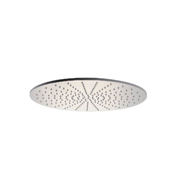 ALFI Brand LED5015-BSS 20 inch Round Brushed Solid Stainless Steel Multi Color LED Rain Shower Head
