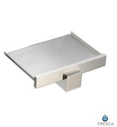 Fresca Brass Wall Mount Soap Dish in Brushed Nickel
