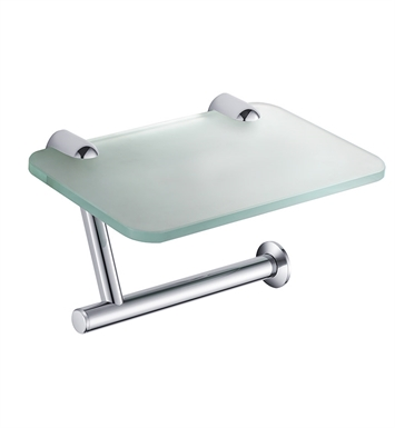 Fresca FAC2345CH Toilet Paper Holder with Phone Tray