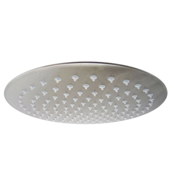 ALFI Brand RAIN12R-BSS Solid Brushed Stainless Steel 12 inch Round Ultra Thin Rain Shower Head