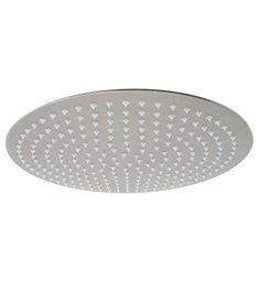 ALFI Brand Solid Brushed Stainless Steel 16 inch Round Ultra Thin Rain Shower Head