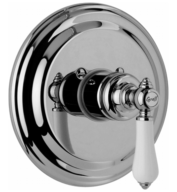 Graff G-8030-LC1S-PC Thermostatic Valve Trim with Handle With Finish: Polished Chrome