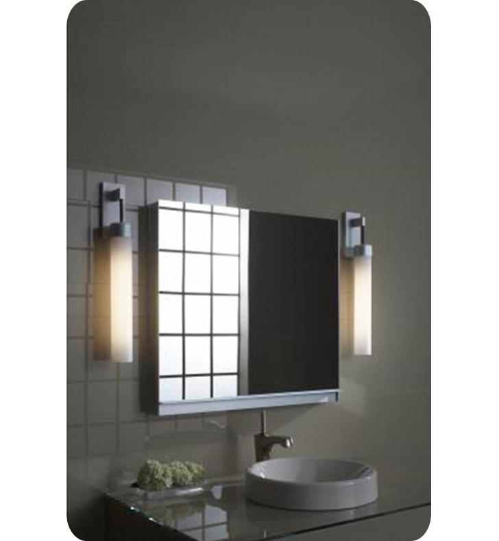 "Lighting Outlets: Robern UC3027FP Uplift 30"" Customizable Medicine Cabinet"