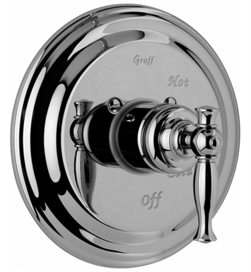 Graff G-7015-LM22S-PC Pressure Balancing Valve Trim with Handle With Finish: Polished Chrome