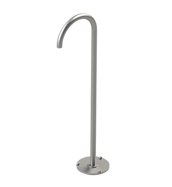 Rubinet 2TLAFGD LaSalle Floor Mount Tub Spout With Finish: Gold
