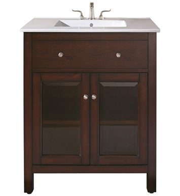 "Avanity LEXINGTON-V24-LE Lexington 24"" Light Espresso Antique Bathroom Vanity"