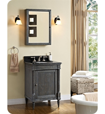 Fairmont Designs 143-V24 Rustic Chic 24 inch Vanity in Silvered Oak