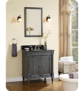 Fairmont Designs Rustic Chic 30 inch Vanity in Silvered Oak