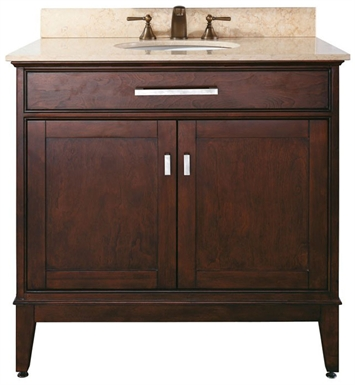 "Avanity MADISON-V36-LE Madison 36"" Light Espresso Antique Bathroom Vanity"