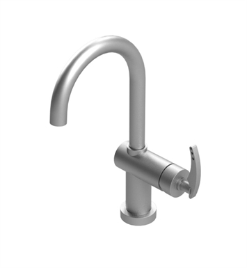 Rubinet 1KLALPNPN LaSalle Single Control Lavatory Set with Push-Up Drain Assembly With Finish: Main Finish: Polished Nickel | Accent Finish: Polished Nickel