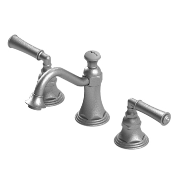 Rubinet 1ARVLOBTB Raven Widespread Lavatory Set with Pop-Up Assembly With Finish: Main Finish: Oil Rubbed Bronze | Accent Finish: Tuscan Brass