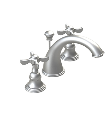 Rubinet 1ARVJC Raven Widespread Lavatory Set with Pop-Up Assembly with Jasmin Spout