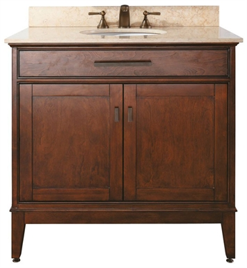 "Avanity MADISON-V36-TO Madison 36"" Tobacco Antique Bathroom Vanity"