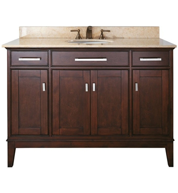 "Avanity MADISON-V48-LE Madison 48"" Light Espresso Antique Bathroom Vanity"