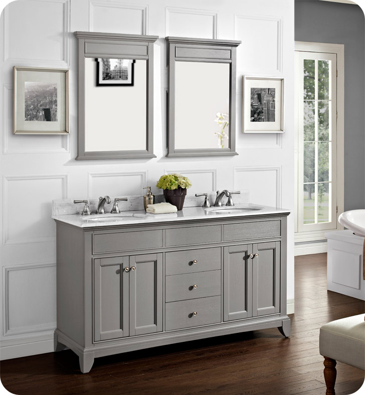 1504 v6021d fairmont designs smithfield 60 inch double bowl vanity