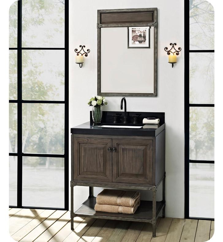 Fairmont designs 1401 30 toledo 30 inch traditional for Gray 30 inch bathroom vanity