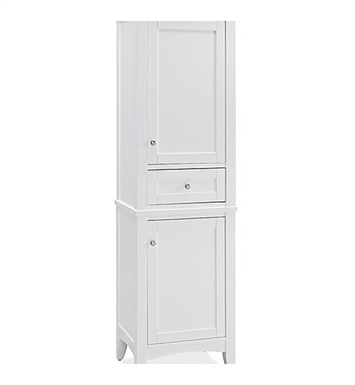 "Fairmont Designs 1512-HT2118_V2118 Shaker Americana 21"" Linen Tower in Polar White"