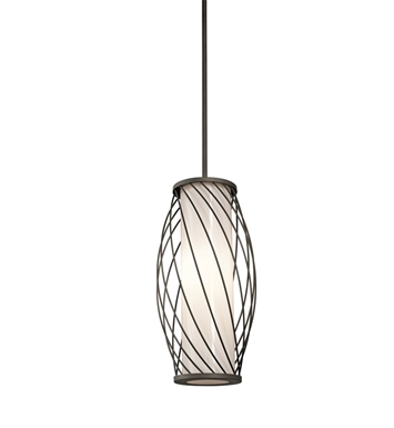 Kichler 42279OZ Pendant 1 Light in Olde Bronze
