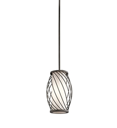 Kichler Mini Pendant 1 Light in Olde Bronze