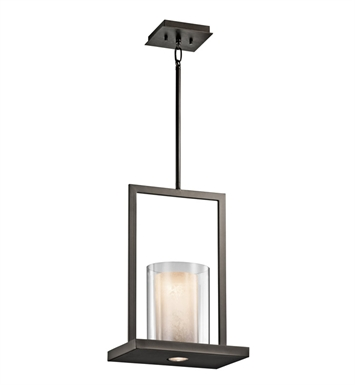 Kichler 42549OZ Triad Collection Pendant 1 Light in Olde Bronze
