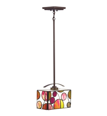 Kichler 65424 Berkley Collection Mini Pendant 1 Light in Mission Bronze