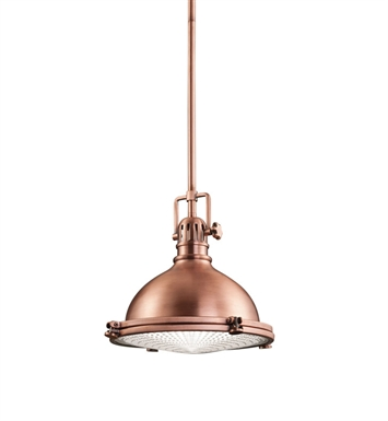 Kichler 2665ACO Pendant 1 Light in Antique Copper