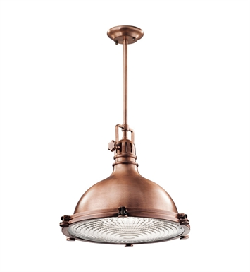 Kichler 2691ACO Pendant 1 Light in Antique Copper