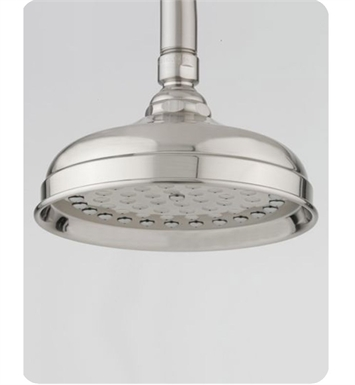 "Jaclo S183-SC Michelle 6"" Round Showerhead With Finish: Satin Chrome"