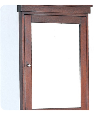 "Fairmont Designs 125-MCR24R Shaker 24"" Medicine Cabinet in Dark Cherry"