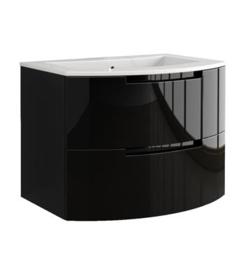 LaToscana OA39OPT1 Oasi 39 inch Modern Bathroom Vanity with 2 Slow Close Drawers and Tekorlux Sink Top
