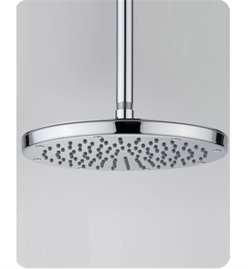 Jaclo S178-ULB Kaila Showerhead With Finish: Unlaquered Brass