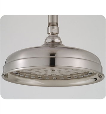 "Jaclo S185-SN Lorenzo 8"" Round Showerhead With Finish: Satin Nickel"