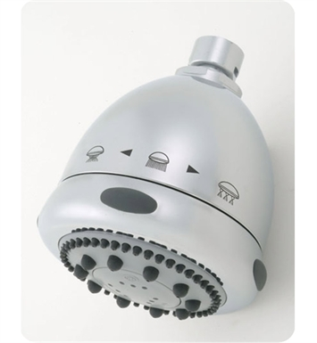 Jaclo S149-SC Frescia Rondo Multifunction Showerhead with Nebulizing Mist With Finish: Satin Chrome