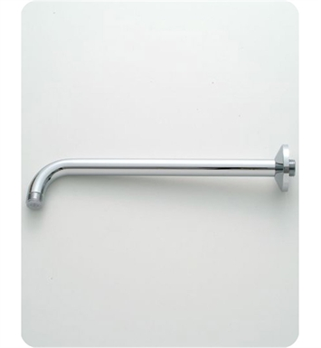 Jaclo 8044-SC Decorative 90° Showerarm with Escutcheon With Finish: Satin Chrome