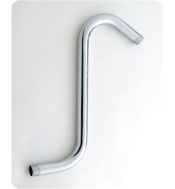 "Jaclo 8038-SB Decorative ""S"" Showerarm With Finish: Satin Brass"