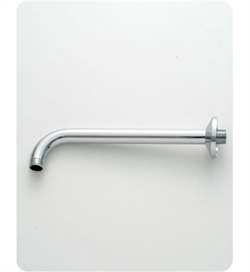 Jaclo 8042-SC Decorative 90° Showerarm with Escutcheon With Finish: Satin Chrome