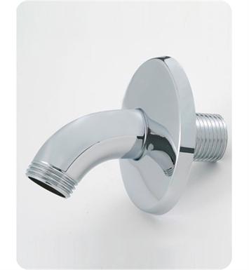 Jaclo 8025-PCU Classic Style Showerarm with Escutcheon With Finish: Polished Copper